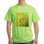 Ninja Fish #1 Green T-Shirt
