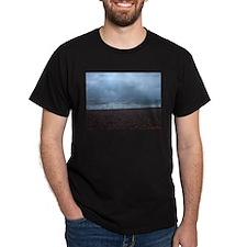 Winter Sea, Hastings, UK T-Shirt