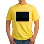 Blue Sky at Night Yellow T-Shirt
