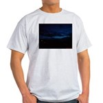 Blue Sky at Night Light T-Shirt