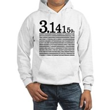 3.1415926 Pi Hooded Sweatshirt