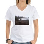 Wier Wood Resevoir Women's V-Neck T-Shirt