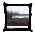 Wier Wood Resevoir Throw Pillow