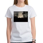 Misty Winter Sky Women's T-Shirt