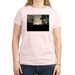 Misty Winter Sky Women's Light T-Shirt