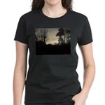 Misty Winter Sky Women's Dark T-Shirt