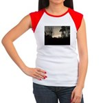 Misty Winter Sky Women's Cap Sleeve T-Shirt