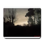 Misty Winter Sky Mousepad