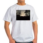 Misty Winter Sky Light T-Shirt
