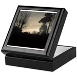 Misty Winter Sky Keepsake Box