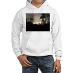 Misty Winter Sky Hooded Sweatshirt