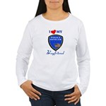 Police Boyfriend Women's Long Sleeve T-Shirt
