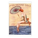Pontchartrain Beach Poster 2 Postcards (Package of
