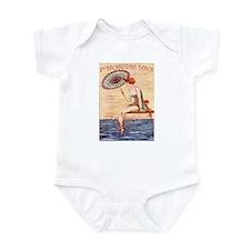Pontchartrain Beach Poster 2 Infant Bodysuit
