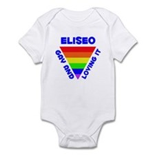 Eliseo Gay Pride (#005) Infant Bodysuit