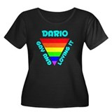 Dario Gay Pride (#008) Women's Plus Size Scoop Nec