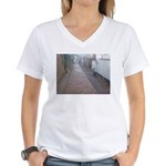 Cats on the Prowl Women's V-Neck T-Shirt