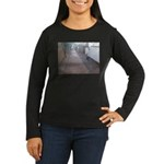 Cats on the Prowl Women's Long Sleeve Dark T-Shirt