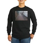 Cats on the Prowl Long Sleeve Dark T-Shirt