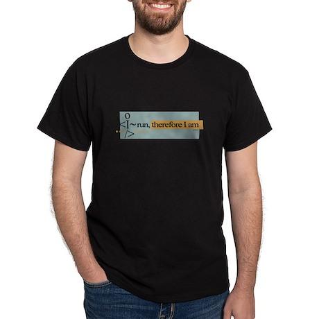 I run, therefore I am Dark T-Shirt