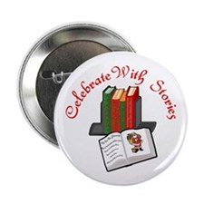 "Celebrate w Stories 2.25"" Button (100 pack)"