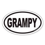 GRAMPY Euro Oval Decal