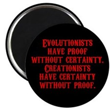 "Evolutionists have proof with 2.25"" Magnet (100 pa"