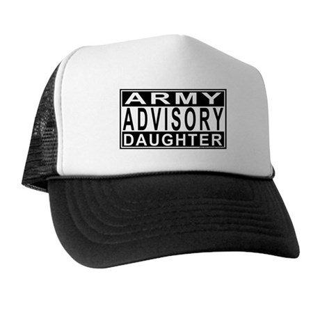 Army Daughter Advisory Trucker Hat