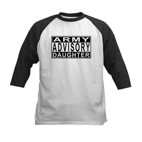 Army Daughter Advisory Kids Baseball Jersey