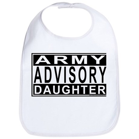Army Daughter Advisory Bib