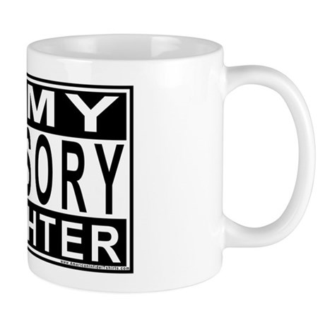 Army Daughter Advisory Mug