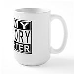 Army Daughter Advisory Large Mug