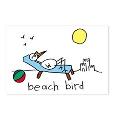 """Beach Bird"" Postcards (Package of 8)"