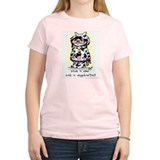 Save A Cow Women's Pink T-Shirt