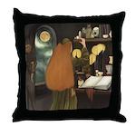 Celtic Sorceress Throw Pillow
