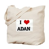 I Love ADAN  Tote Bag