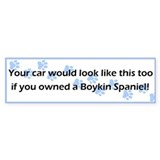 Your Car Boykin Spaniel Bumper Bumper Sticker