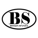 BS Abbreviation Boykin Spaniel Decal
