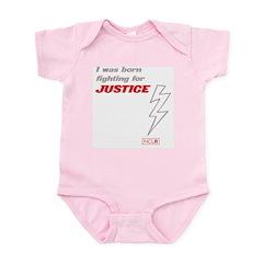 Infant Bodysuit - Born Fighting for Justice