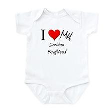 I Love My Serbian Boyfriend Infant Bodysuit