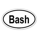 BASH Oval Decal