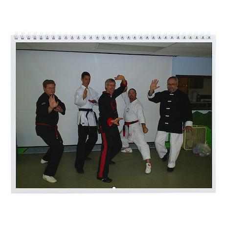 Ambassador Martial Arts Wall Calendar