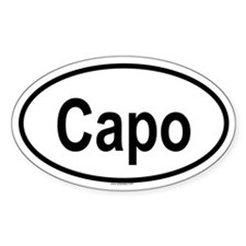 CAPO Oval Decal