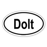 DOLT Oval Decal