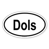 DOLS Oval Decal