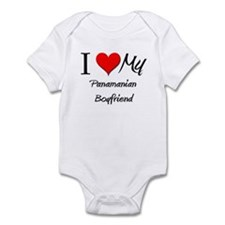 I Love My Panamanian Boyfriend Infant Bodysuit