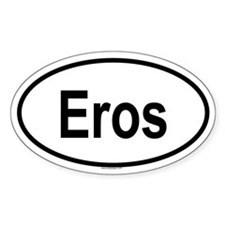 EROS Oval Decal