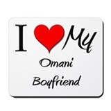 I Love My Omani Boyfriend Mousepad