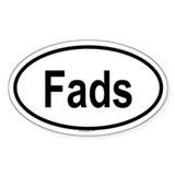 FADS Oval Decal