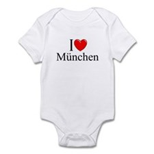 """I Love Munchen"" Infant Bodysuit"